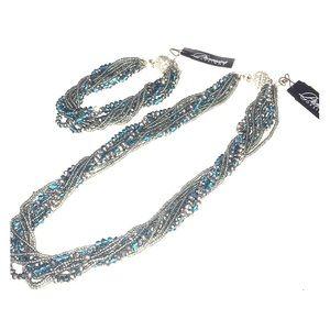 Premier Designs Seaside necklace & bracelet